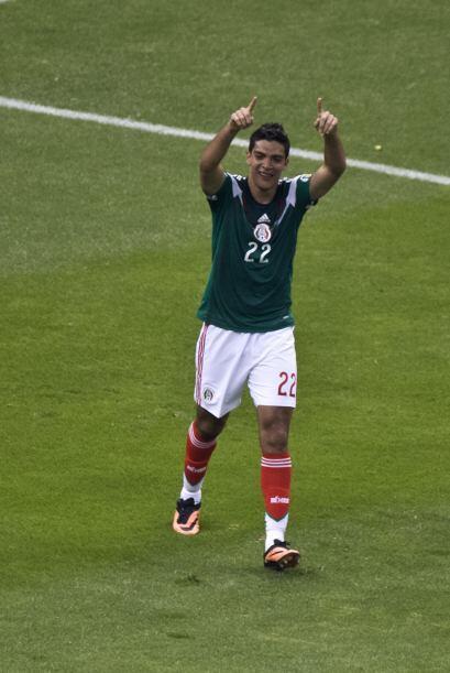 El compañero ideal de Oribe Peralta puede ser Raúl Jim&eac...