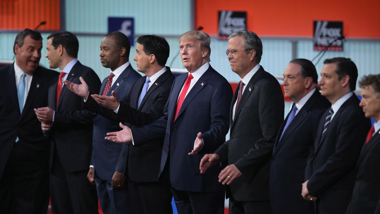 Primer debate presidencial republicano