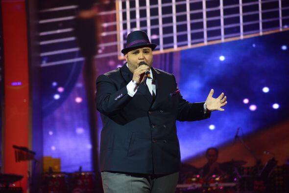 """Ricardo Rivera cantó """"Ya lo pasado pasado"""" durante el segundo show."""