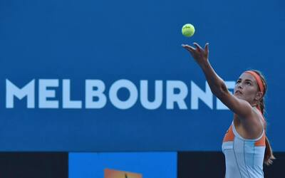 La boricua perdió en la tercera ronda del Grand Slam en Sídney.
