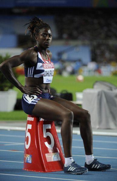 A ellos se suma la británica Christine Ohuruogu, oro de los 400 m...