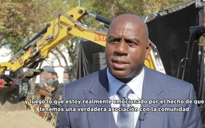 "Magic Johnson: ""El fútbol está creciendo en Estados Unidos"""