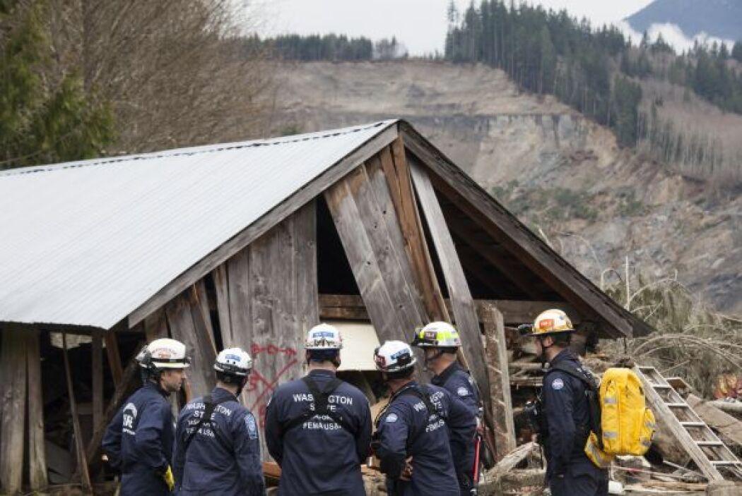 La lista de desaparecidos incluye a obreros de la construcción que traba...