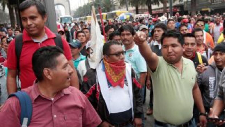 Marcha maestros CNTE.