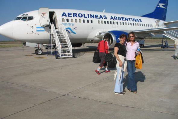 El equipo de Aquí y Ahora llegó a San Nicolás, a or...