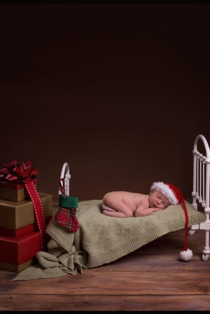 Con las fotos, los padres aprovechan para hacer tarjetas de navidad para...