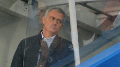 Mourinho durante el partido ante Southampton.