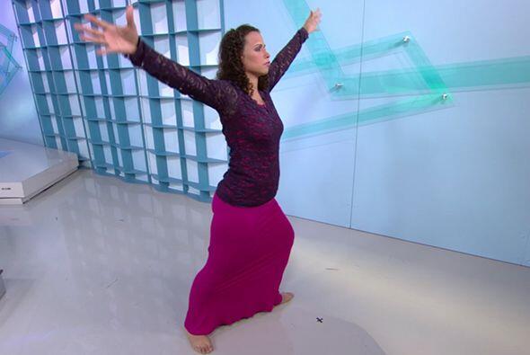 Corazón explicó a los televidentes de Cita como el arte y la danza le ay...