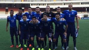 Estados Unidos sub 23 cayó ante Brasil