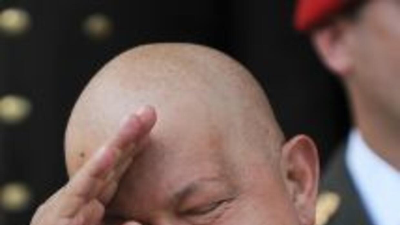 La infección de Hugo Chávez continúa en una situación estacionaria, segú...