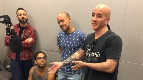 Visitaron el Top 20 Countdown de La Primera para dar detalles de su conc...