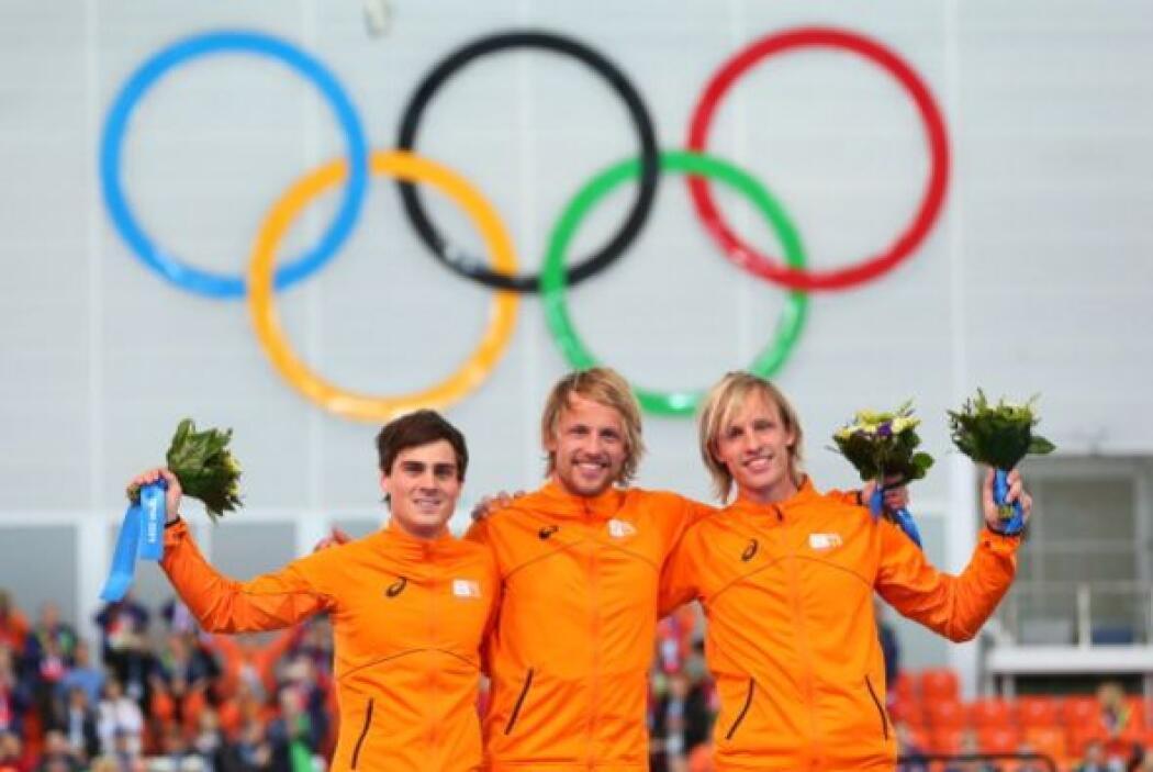 Los holandeses han dominado la prueba de cinco kilómetros en patinaje de...