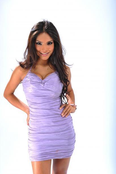 Cuando esta chica iba en busca de la corona de 'Nuestra Belleza Latina'...