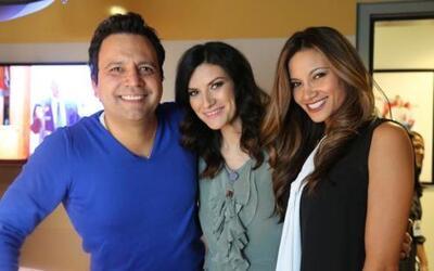 Laura Pausini visitó a Omar y Argelia y nos contagió con su hermosura, s...