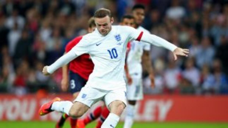 Wayne Rooney anotó el único gol del partido.