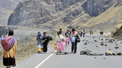 Narcos mexicanos usan a indígenas para transportar drogas