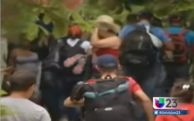 Cubanos son recibidos con disparos en Panamá