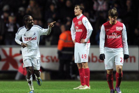Pero casi aún cuando Arsenal festejaba ese gol, llegó el t...