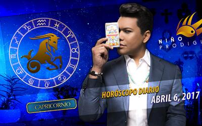 Niño Prodigio - Capricornio 6 de abril 2017