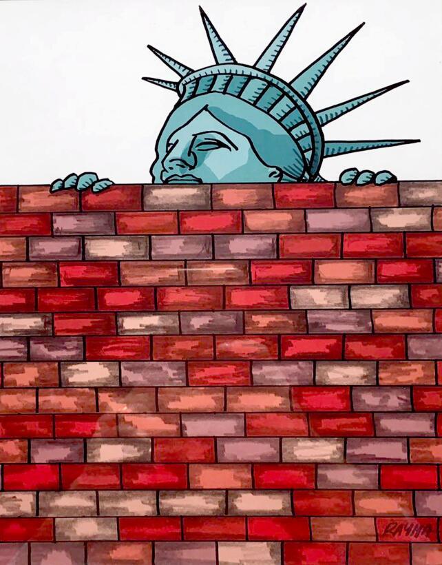 En fotos: Así ve a Trump una caricaturista que desafió la censura en Ven...