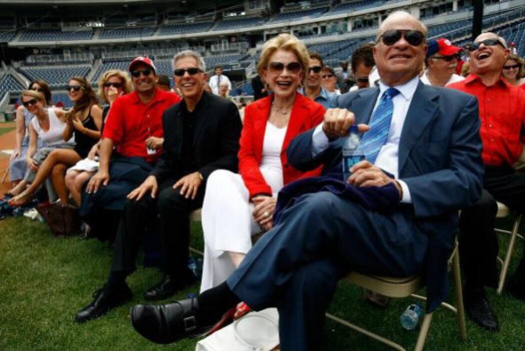 MARYLAND.  Ted Lerner, el propietario de Washington Nationals, posee 4,6...
