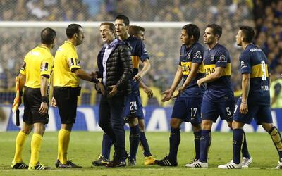 Boca fue sancionado por los incidentes ante River Plate en la pasada Cop...