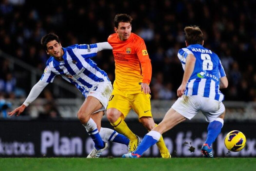Comenzó bien el Barcelona, desplegando su fútbol de toque y dominio ante...