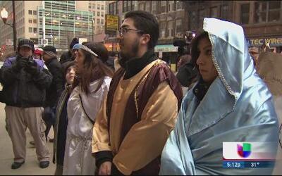 Realizan posada por la reforma migratoria en Chicago