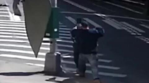 'Nueva York en un Minuto': hallan muerto al hombre que dejó a un anciano...