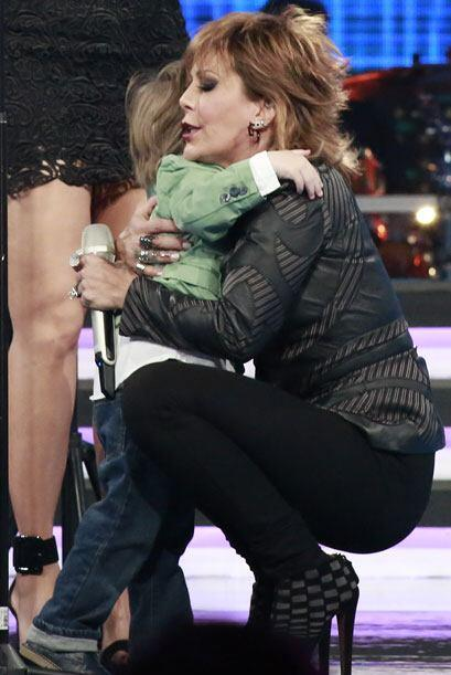 ¡Quedó encantada con el hijo de Gali!