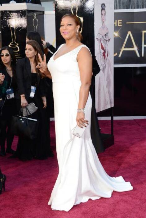 Algunos amaron el vestido de Queen Latifah, mientras que otros los odiar...