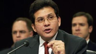 El ex secretario de Justicia, Alberto González.