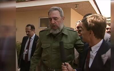 Lo que dijo Fidel Castro sobre el muro a Jorge Ramos en 1991