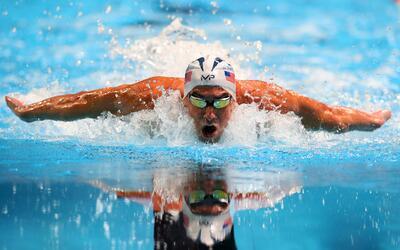 Las medallas de Michael Phelps tuvieron un toue de ayuda alemana.