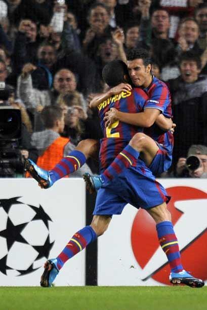 Pedro hizo el otro del Barcelona.