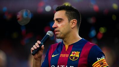Xavi será presentado el jueves como nuevo jugador del Al-Sadd GettyImage...