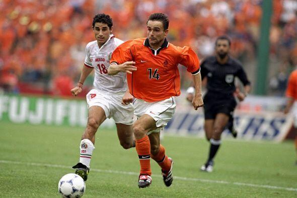 México disputó su tercer juego en St. Ettiene ante Holanda...