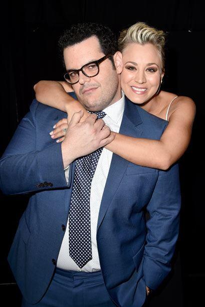 Kaley ya se hizo buena amiga del comediante Josh Gad (a quien recordamos...