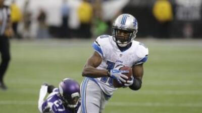 Nate Burleson sigue sin equipo en la NFL (AP-NFL).