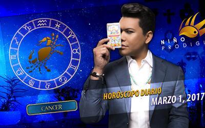 Niño Prodigio - Cáncer 1 de marzo, 2017