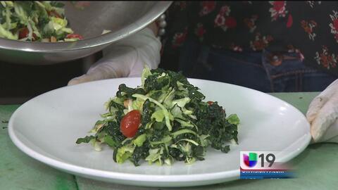 Una probadita: ensalada Kale