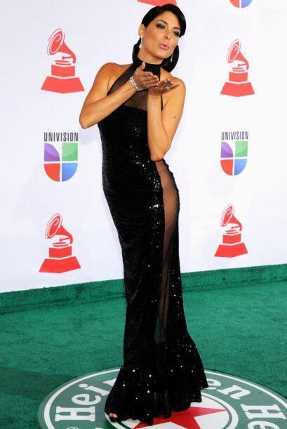 Así mandó su beso Blanca Soto, un poco diferente al de sus compañeras.