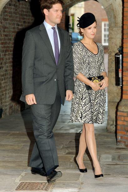 Emilia Jardine-Paterson y su esposo David.Mira aquí los videos más chism...