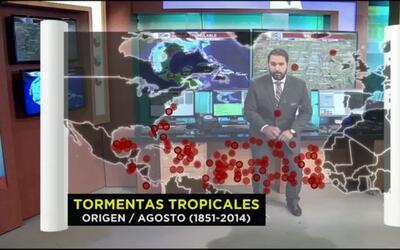 El tiempo: origen de los huracanes