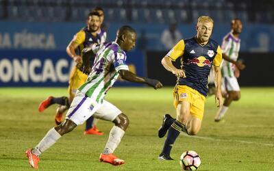 NY Red Bull empató con Antigua y avanzó a la siguiente fase de la Liga d...