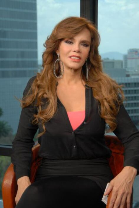 Lucía Méndez visitó los estudios de El Gordo y La Flaca en México para c...