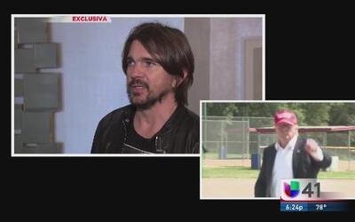 Juanes opina sobre Trump e inmigración en su visita a Nueva York