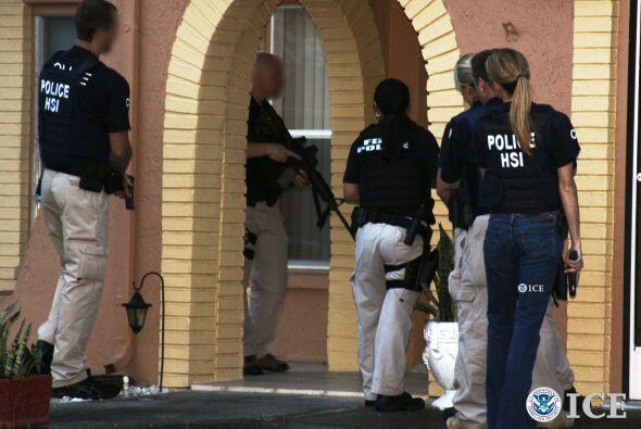 Del total de detenidos, 39 fueron arrestados en California, 58 en Florid...