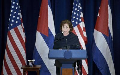 Roberta Jacobson, embajadora de EEUU ante México, fue criticada p...