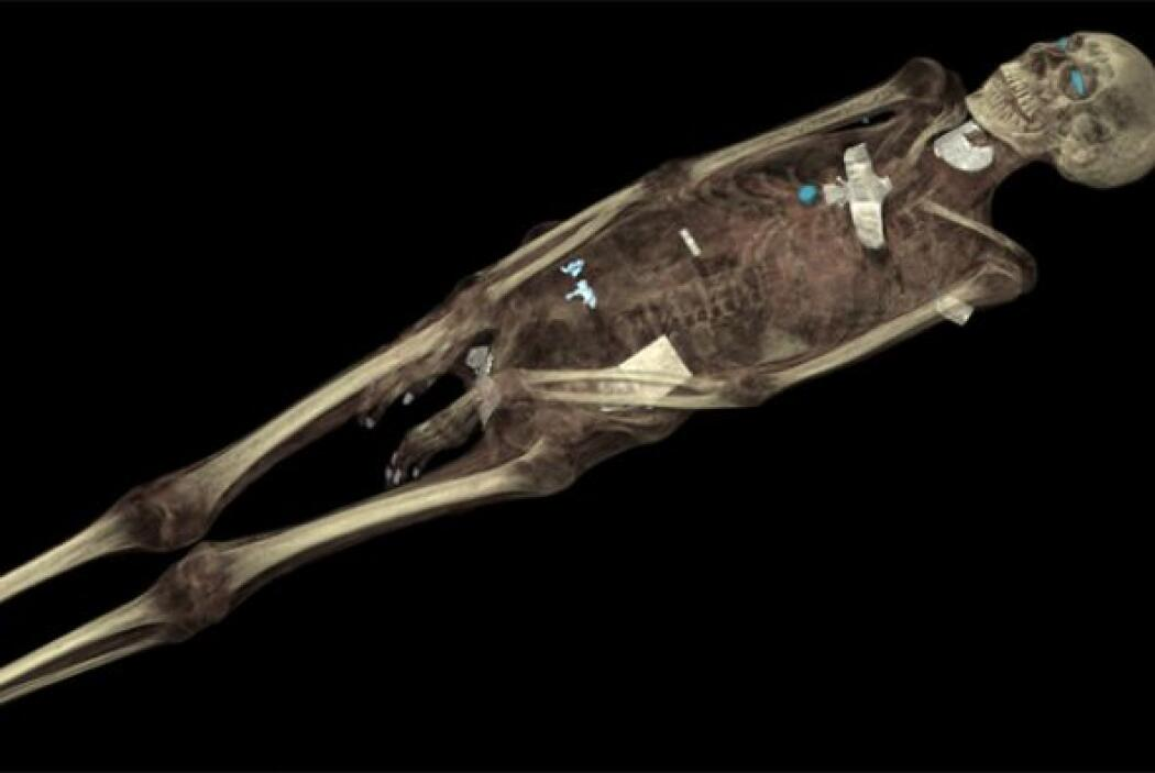 Otra momia egipcia es Tamut, que era la hija de un sacerdote de alto ran...